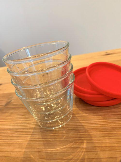 iwakiプリンカップ重ねて収納